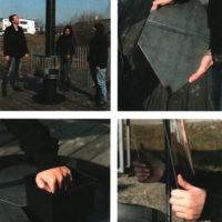 Montage der Feuerraumplatten und Glasscheiben